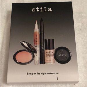 Stila bring on the night make up set nib